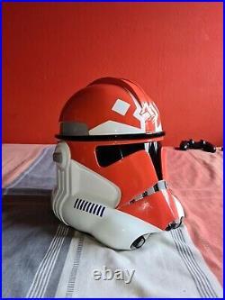 11 Scale 3D Printed 501st (Ahsoka) Clone Trooper Helmet