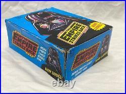 1980 TOPPS STAR WARS ESB SERIES 2 UNOPENED 36 Wax PACKS IN WAX BOX