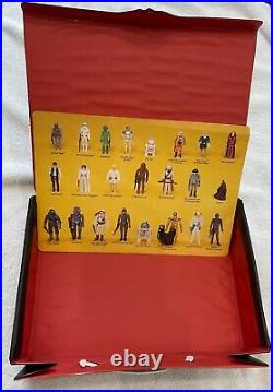 1982 VINTAGE STAR WARS EMPIRE STRIKES BACK ACTION FIGURE CARRYING CASE = used