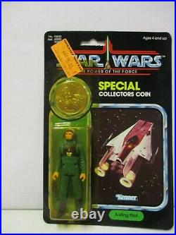 1984 Star Wars Power of the Force A-Wing Pilot