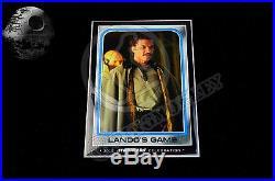 "2015 Star Wars Celebration Topps EXCLUSIVE Vintage 9 Card Set LE100 5/""x7/"" RARE"