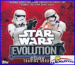 2016 Topps Star Wars Evolution HUGE Factory Sealed 24 Pack HOBBY Box-2 HITS