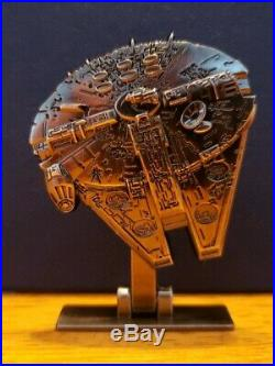 2017 star wars celebration Disney Pin Millennium Falcon LE 6000