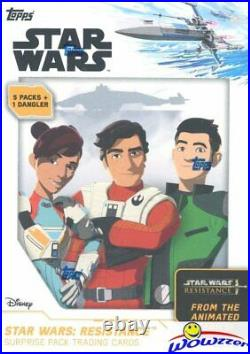 2019 Topps Star Wars Resistance Sealed 16 Box BLASTER CASE from Animated Series