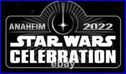 2 (two) Star Wars Celebration Anaheim 2022 JEDI MASTER VIP Tickets (SOLD OUT)