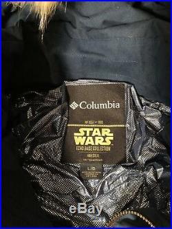 4 Star Wars Columbia Jackets! Signed Mark Hamill! Han Solo Princess Leia Empire
