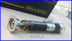 89Sabers Korbanth K4V2 Obi Wan Lightsaber STEEL VERSION With Roman Props Wind Vane