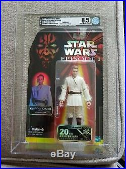 AFA Graded 2019 Star Wars Celebration Hasbro 20th Anniversary Obi-Wan Kenobi