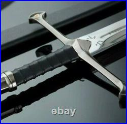 Anduril Sword Of Narsil From Lord of the Ring Monogram Custom Engraved LOTR JWK