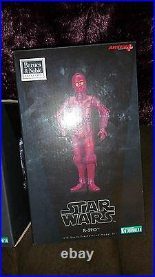 Barnes & Noble Exclusive Kotobukiya ArtFX Star Wars Droids R-3PO & R2-Q2 Set