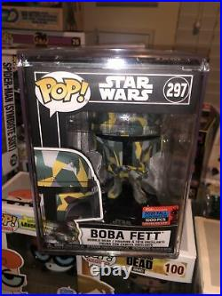 Boba Fett (297) (Star Wars) 2020 NYCC Exclusive LE 1000 Funko Pop IN STACK