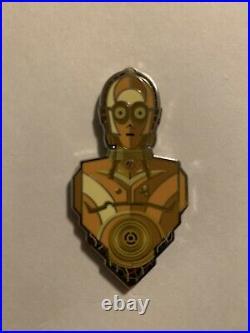 C-3PO Gold Eyes Chase Pin Star Wars Celebration Anaheim 2020