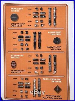 Custom Galaxys Edge Savis Workshop Lightsaber (brand New, You Pick Design!)
