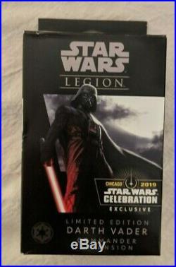 Darth Vader SWC Celebration 2019 Exclusive FFG Star Wars Legion