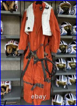 Disney Parks Star Wars Galaxys Edge X-Wing Pilot Flight Suit Cosplay L/XL