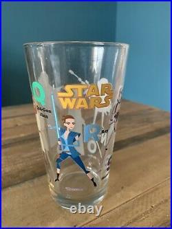 Disney Star Wars Celebration SHAG Josh Agle 4 Pint Glasses mid century tiki