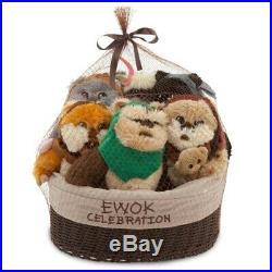 Disney Star Wars Ewok Celebration Basket Limited Edition Set NEW Un-Opened