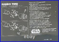 Disney Star Wars Galaxy Edge AHSOKA TANO Legacy Lightsaber Discontinued
