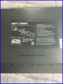 Disney Star Wars Galaxys Edge Darth Tyranus Legacy Lightsaber Hilt Count Dooko