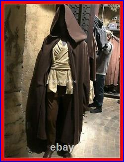 Disneyland Disney Parks Star Wars Galaxys Edge Adult Jedi / Sith Brown Robe New