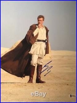 Ewan Mcgregor signed autographed 11x14 photo Star Wars BECKETT COA