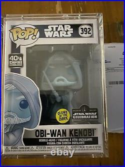 Funko Obi-Wan Kenobi Pop! Star Wars Celebration Exclusive (Glow In The Dark)
