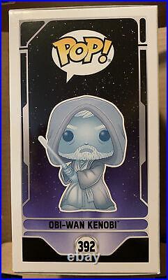 Funko POP Star Wars Celebration 2020 Glow in the Dark Obi-Wan Kenobi (392)