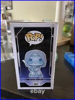 Funko POP! Star Wars Celebration 2020 Glow in the Dark Obi-Wan Kenobi #392 BNIB