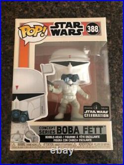 Funko Pop! #388 Concept Series Boba Fett Star Wars Celebration Anaheim IN HAND