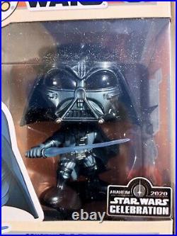Funko Pop Boba Fett & Darth Vadar Concept Series Star Wars Anaheim Con Sticker