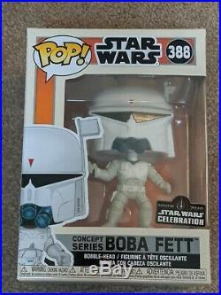 Funko Pop! Concept Series Boba Fett Star Wars Celebration Anaheim