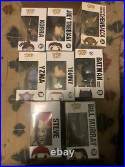 Funko Pop Lot With Soft POP Protectors And Sorters