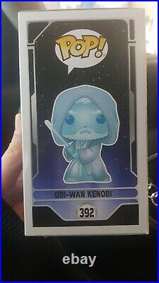 Funko Pop! Obi-Wan Kenobi #392 STAR WARS Glow in the Dark Celebration 2020
