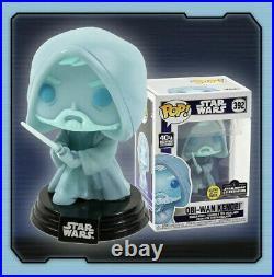 Funko Pop! Obi-Wan Kenobi #392 Star Wars Celebration 2020 Exclusive IN HAND