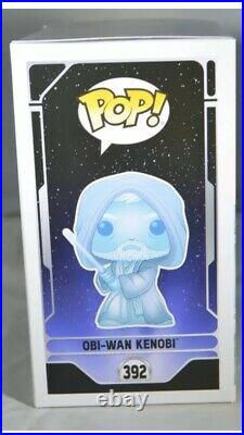 Funko Pop! Obi-Wan Kenobi #392 Star Wars Celebration, Limited Edition To 3,000