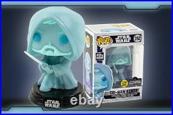 Funko Pop! Obi-Wan Kenobi Holographic Glow LE3000 Star Wars Celebration Confirmd