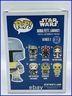 Funko Pop! Star Wars Boba Fett (Droids) #32 EUROPE EXCLUSIVE with Pop! Stacks Case