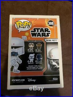 Funko Pop Star Wars Celebration Concept Series Boba Fett Exclusive Sticker
