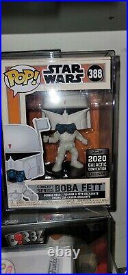 Funko Pop Star Wars Concept Series #388 Boba Fett MINT CONDITION/NEW