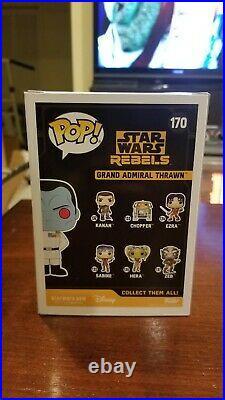 Funko Pop! Star Wars Rebels #170 Grand Admiral Thrawn Star Wars Celebration