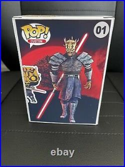 Funko Pop! Star Wars Savage Opress CUSTOM Pop and Box Clone Wars