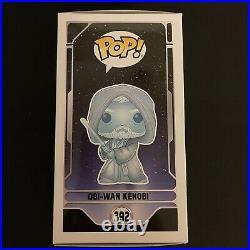 Funko Star Wars Obi Wan Kenobi 392 with premium hard stack protector