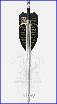 Game Of Thrones Jon Snow's Sword Long claw Wall decor, BEST Gift for him JW-511