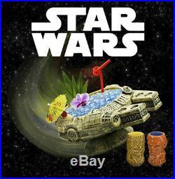 Geeki Tiki Mug Disney Star Wars Millenium Falcon SWCC 2019 Beeline Creative NIB