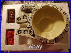 Geeki Tiki Star Wars Millennium Falcon Han Solo Chewbacca Tiki Mug Set In Hand