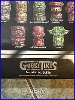 Geeki Tikis Star Wars Set 18 Mini Muglets SDCC Celebration Exclusive Vader Case