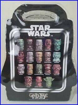 Geeki Tikis Star Wars Set of 18 2oz Mini Muglets SDCC SWCC Limited Edition