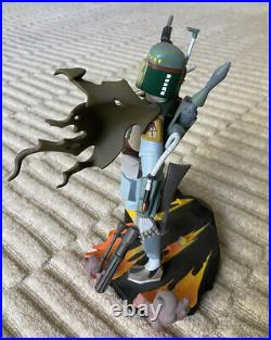 Gentle Giant BOBA FETT ANIMATED MAQUETTE STATUE Star Wars