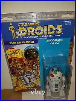 Gentle Giant Jumbo Vintage DROIDS lot! Boba Fett C3PO & R2D2! SUPER RARE