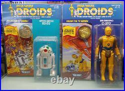 Gentle Giant Star Wars Jumbo Vintage Droids Cartoon R2-d2 C-3po Set Celebration